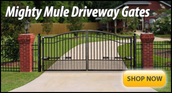 Mighty Mule Driveway Gates