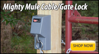 Cable Gate Lock By Mighty Mule
