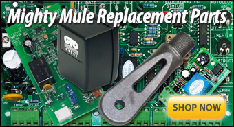 Mighty Mule Gate Opener Replacement Parts