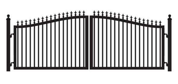 mighty mule driveway gates